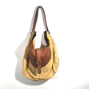 Lucky Brand Suede Hobo Shoulder Bag